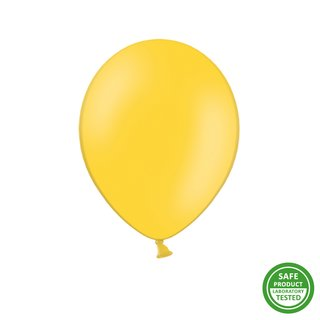 50 Stck. Luftballon 30 cm Pastell strong - Honey Yellow