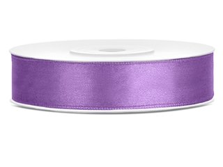 Satinband - 12 mm x 25 m - Lavendel