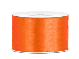 Satinband - 38 mm x 25 m - Orange
