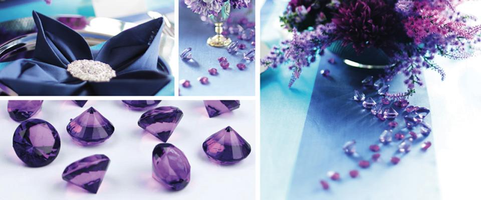 Deko - Diamanten Streudeko Dekosteine